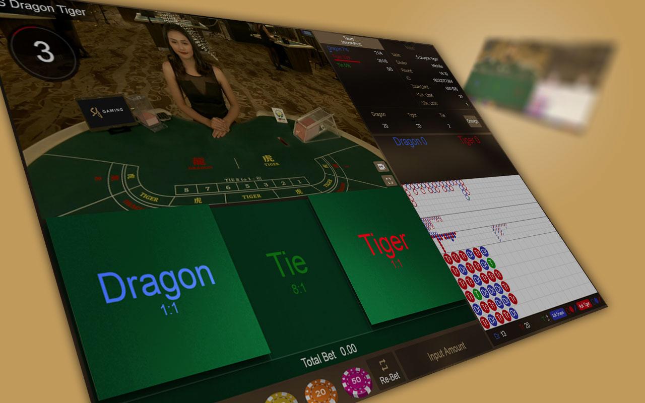 SA Gaming - Live Games